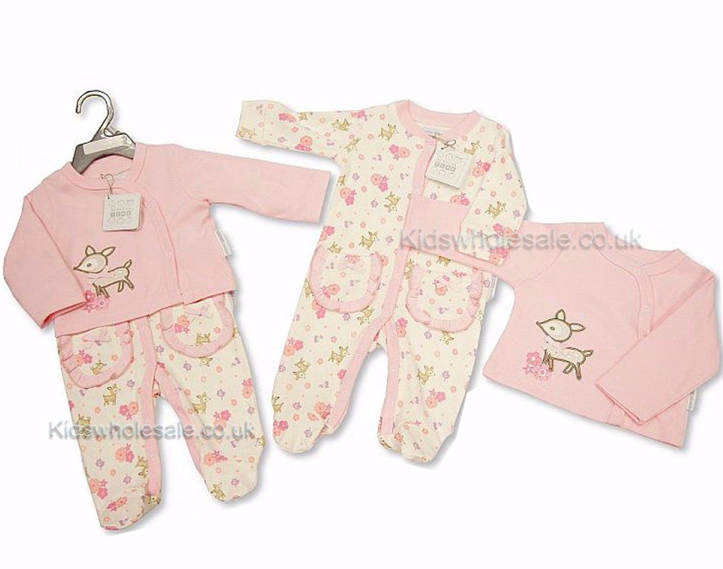 Baby Girls 2 Pieces Set - Little Deer (BIS-2027-1899)