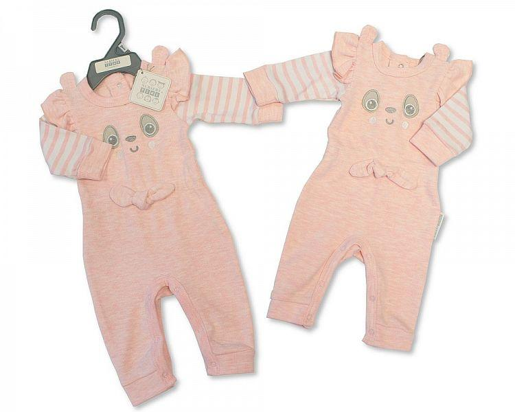 Baby Girls All in One - Panda - NB-6M - (BIS-2028-2123)