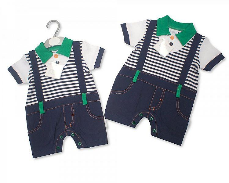 Baby Boys Cotton One Piece Set (Bis-2096-1674)