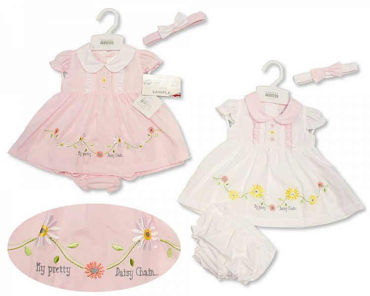 Baby Dress 0-9 Months - Daisychain - Bis-2099-2168 - Kidswholesale.co.uk