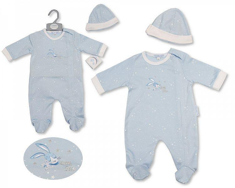 Baby Boys All in One with Hat - Little Star - 2196