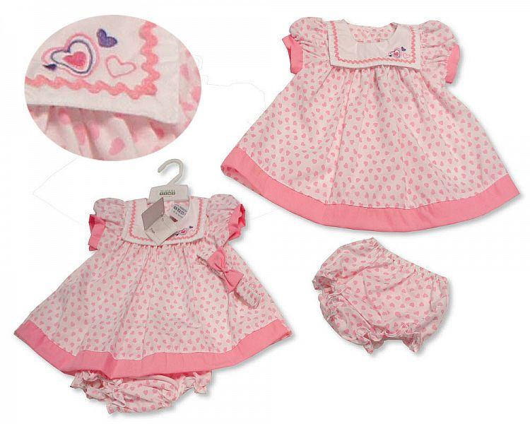 Baby Girl  Spanish Style 2 Pack All in One Sleepsuit baby grow Pink  NB 3-6 m