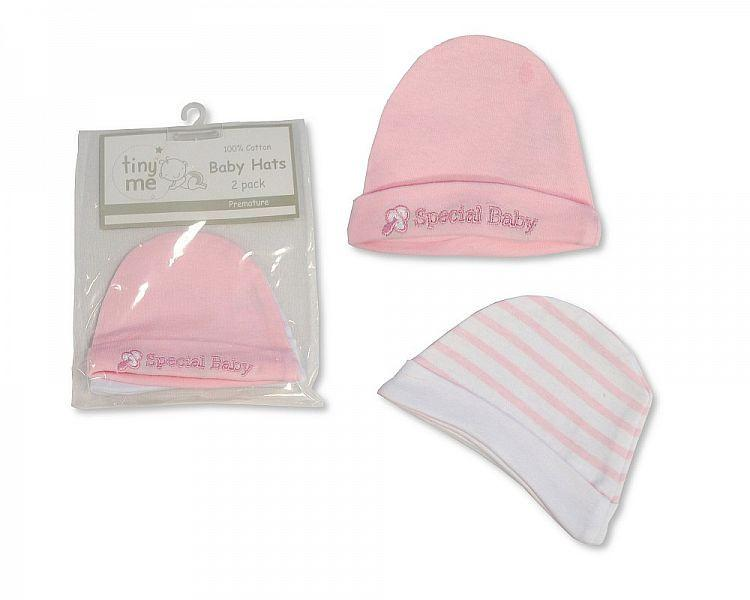 Premature Baby Girls Hats 2-Packs - Special Baby