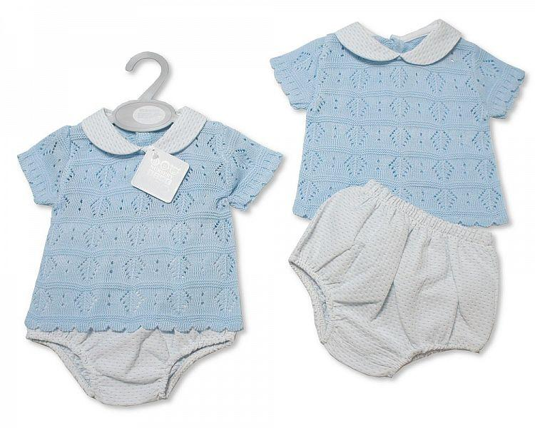 Baby Boys Knitted 2 pcs Set (NB-9 Months) Bw-10-072