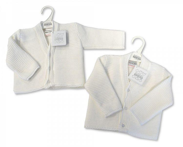 Knitted Baby Boys Cardigan - 6/24M - (Bw-10-535a) - Kidswholesale.co.uk