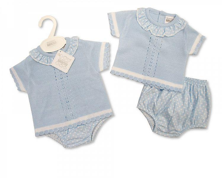 Knitted Baby 2 pcs Set - 809 (0-9 Months) Bw-10-809