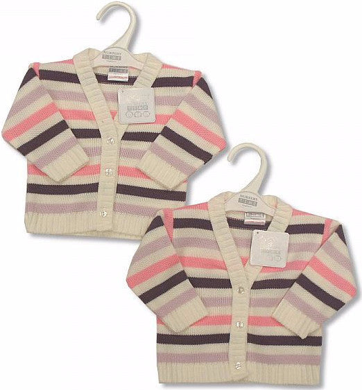 Baby Knitted Cardigan - Girls (BW-1013-465)
