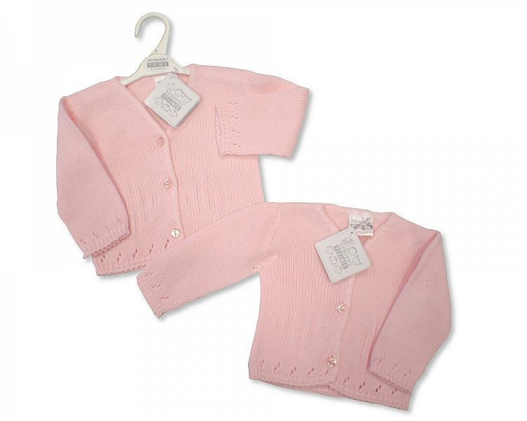 Knitted Baby Girls Cardigan - BW-1015-476