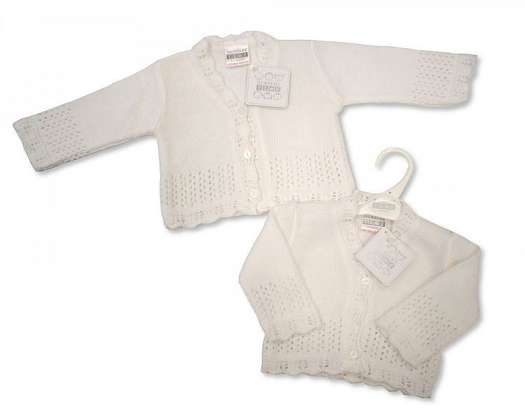 Knitted Baby Girls Cardigan - 490