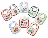 Baby Days of the Week Bibs - Boys - 673a