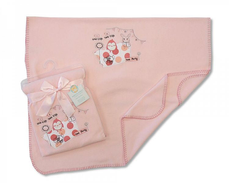 Baby Pram Blanket - Tea Party