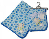 Baby Coral Fleece Wrap - Space Ship BW112-912