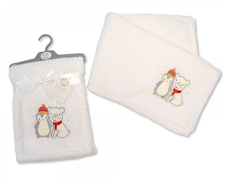 Baby Wrap ' Christmas Friends' [BW-112-995]