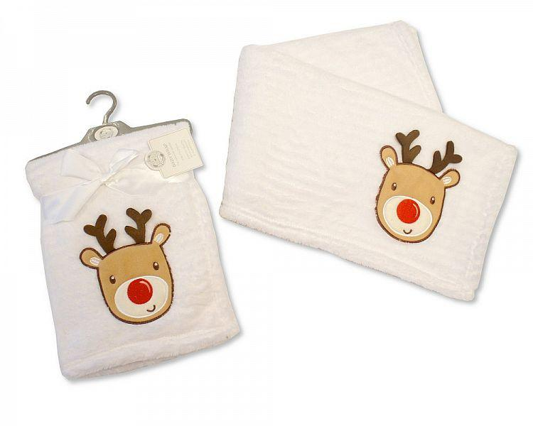 Baby Christmas Wrap - Reindeer [BW-112-996] - Kidswholesale.co.uk