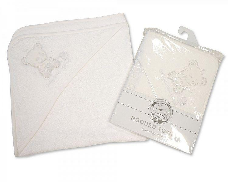 Baby Hooded Towel - Bear Friend Bw-120-088