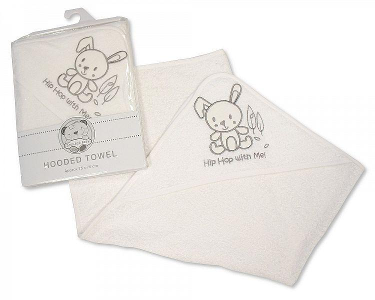 Baby Hooded Towel - Hip Hop with Me Bw-120-092