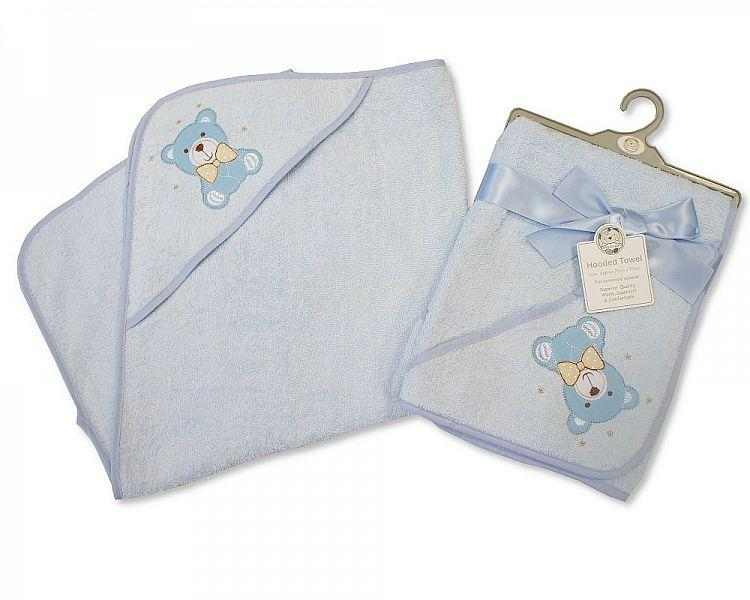 Baby Hooded Towel - Teddy - BW-120-107
