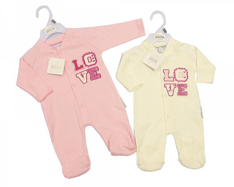 Baby Cotton All in One - Love Bw-1310-0237