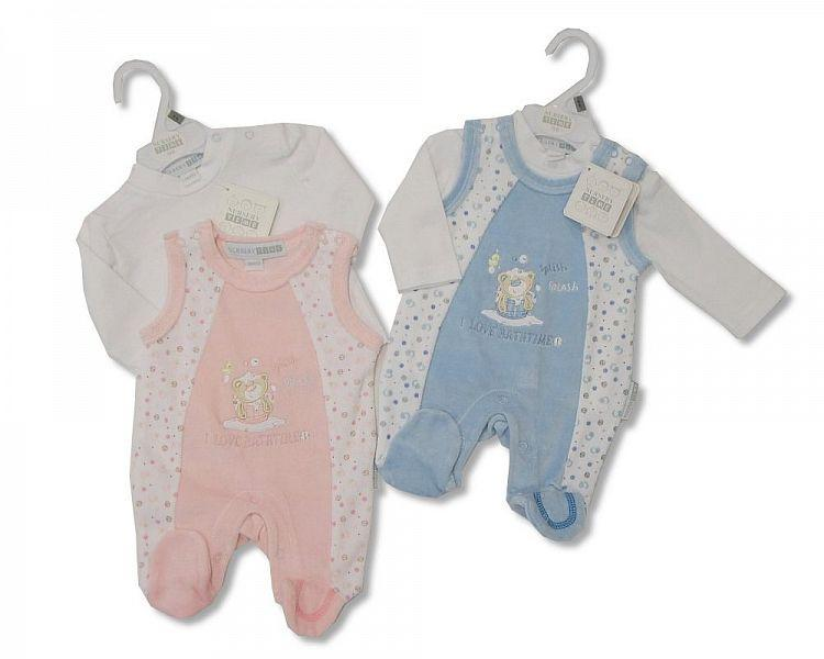 Baby Velour 2 pcs Set (NB-6months) (Bw 1312-0137)