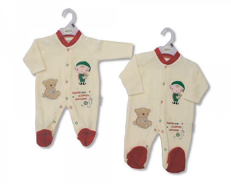 Christmas Baby All in One - 0142 - Kidswholesale.co.uk