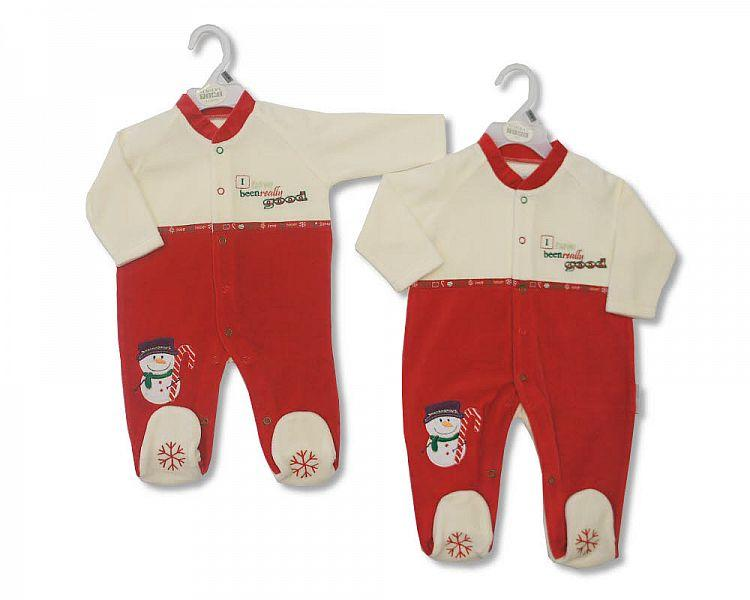Christmas Baby All in One - 0145 - Kidswholesale.co.uk