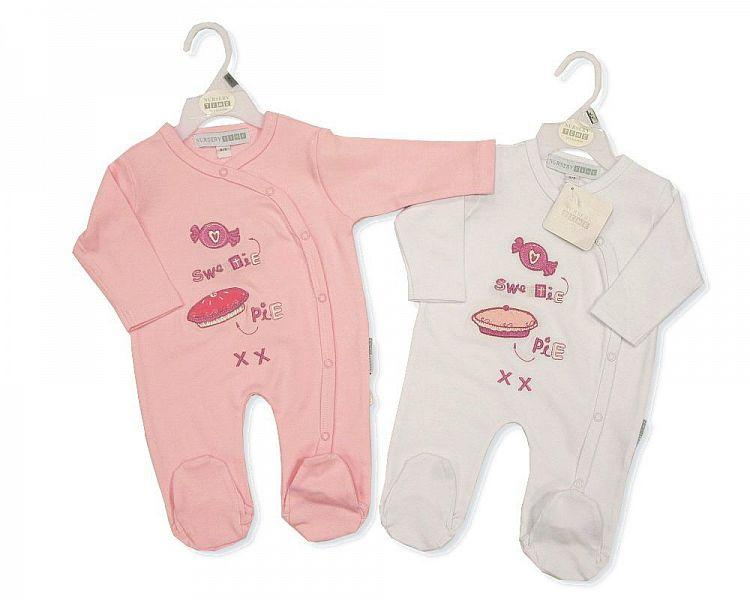 Baby Cotton All in One - 0253 - Kidswholesale.co.uk