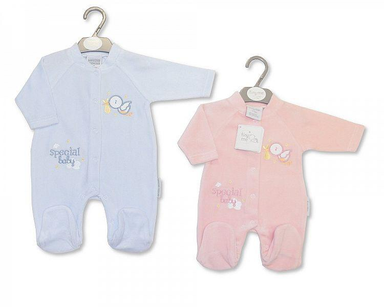 Baby Velour All in One - Tiny Baby(Bw 1315-0178 )