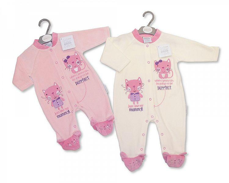 Baby Velour All in One (Bw 1315-0304)