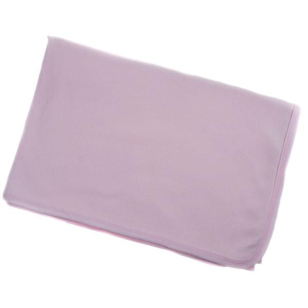 INFANTS PLAIN PINK RECEIVING WRAP: BW612-P - Kidswholesale.co.uk