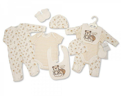 Girls Pearl Necklace Headband, Bodysuit & Pants Set: BG76