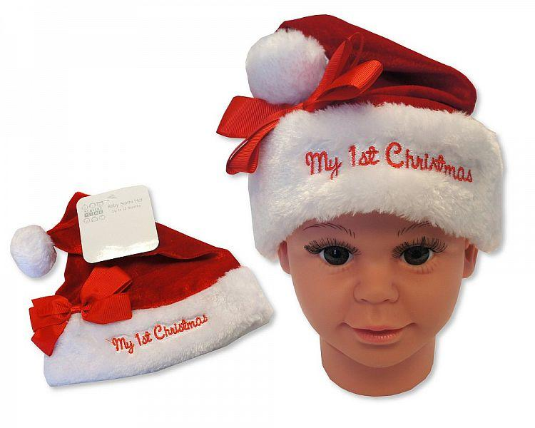 Baby Girls Christmas Hat - My First Christmas [GP-25-0841]