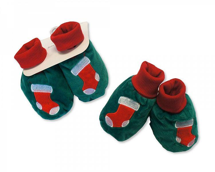 Baby Christmas Booties - Stockings - (GP-25-0845)