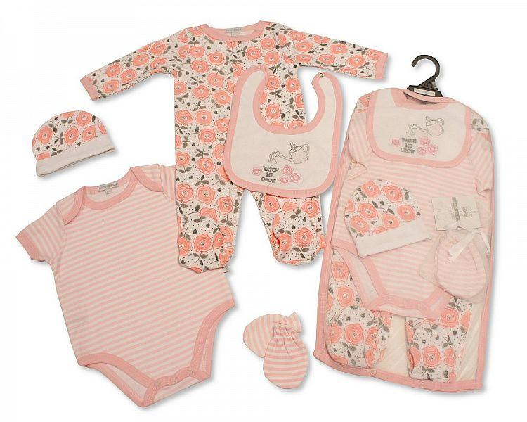 Baby Girls 5 pcs Gift Set - Watch Me Grow [GP-25-0964]