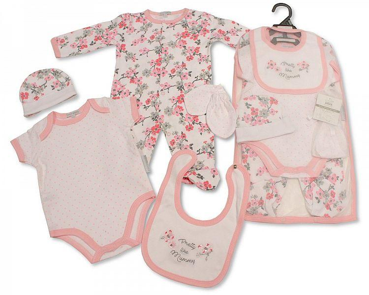 Baby Girls 5 pcs Gift Set - Pretty Like Mummy  [GP-25-0966]