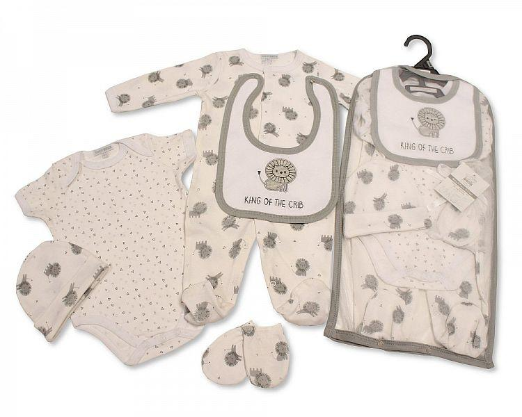Baby 5 pcs Gift Set - King of the Crib [GP-25-0967]