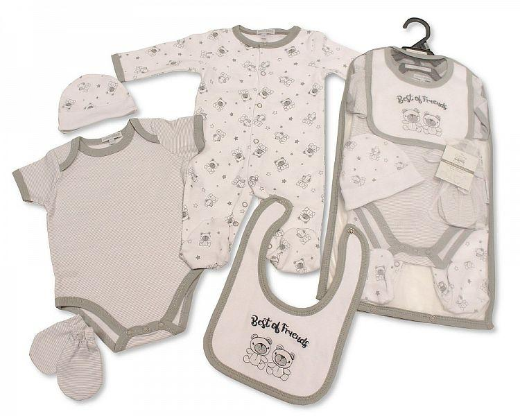 Baby 5 pcs Gift Set - Best of Friends [GP-25-0968]