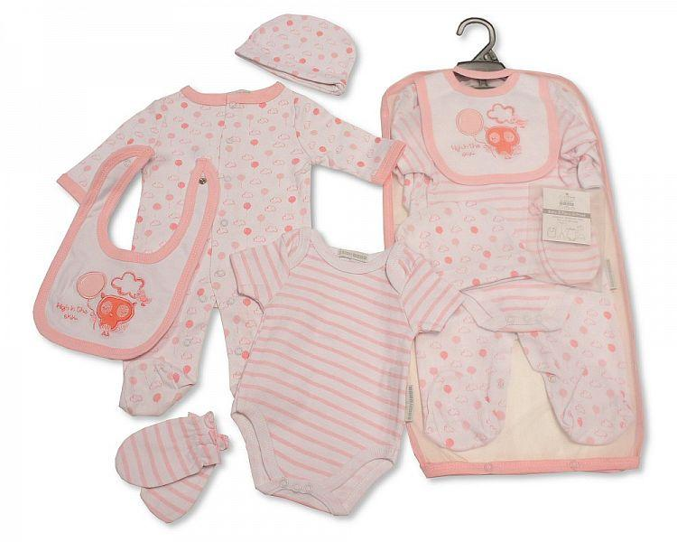 Baby Girls 5 pcs Gift Set - High in the Sky (GP-25-0983)