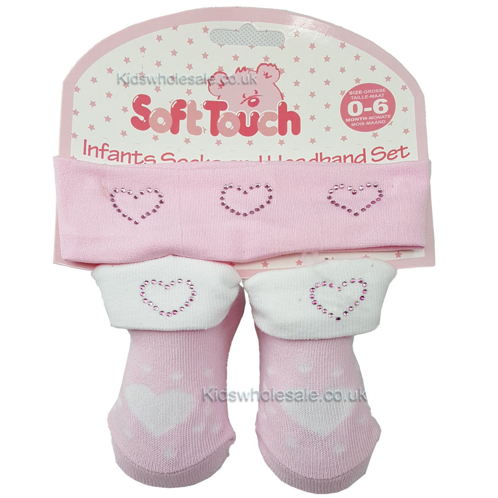 Girls Headband & Sock Set: GS32