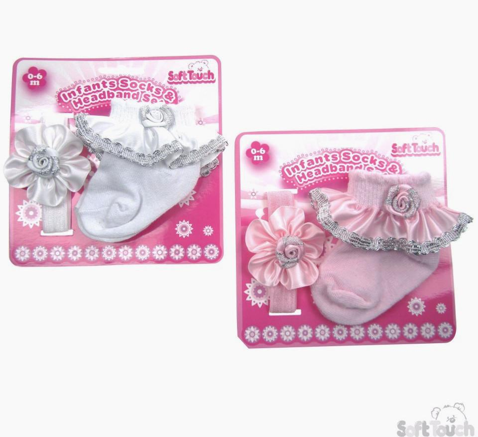 Girls Headband & Socks Set (GS36-16)
