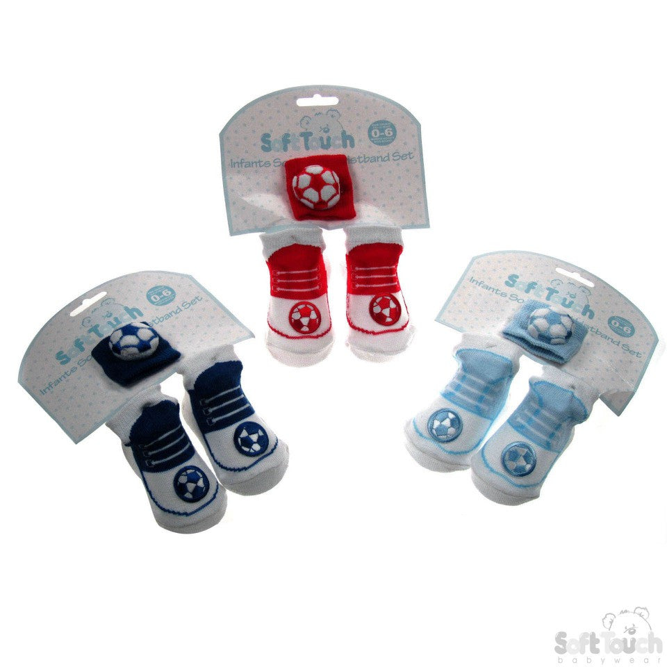 BOYS WRISTBAND & SOCK SET: GS40
