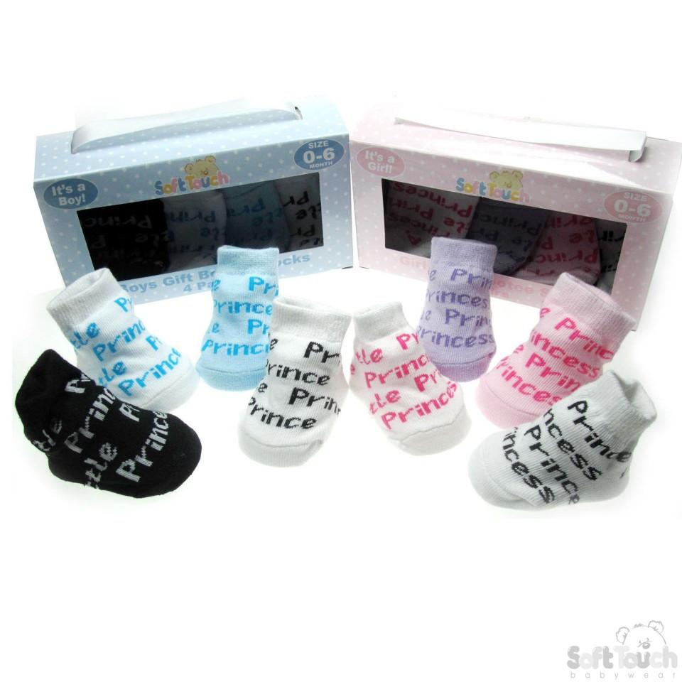 4 PACK BABY SOCKS: GS42