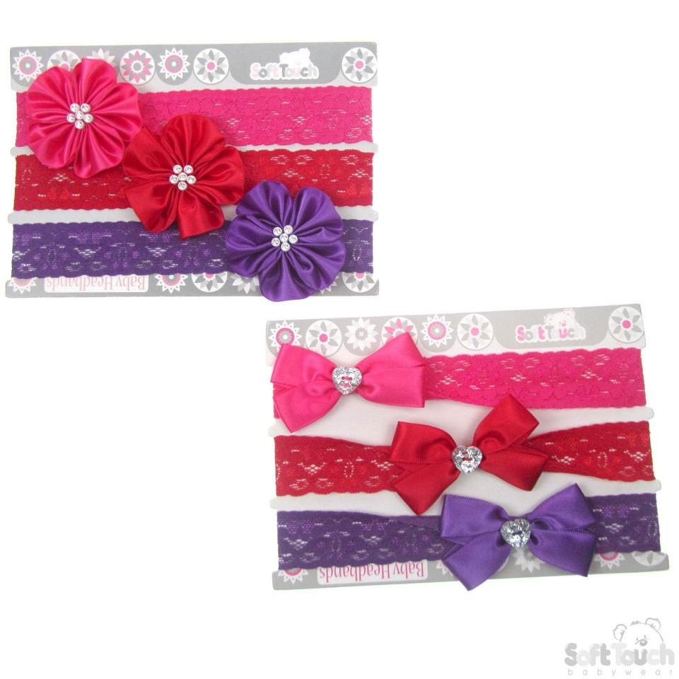3 PACK BRIGHT HEADBANDS: HB53