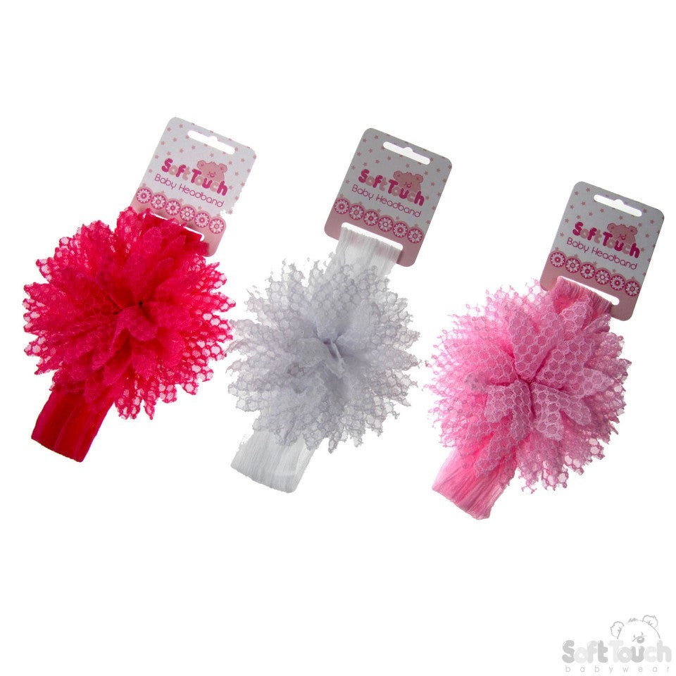 Girls Chiffon Headbands (HB79)