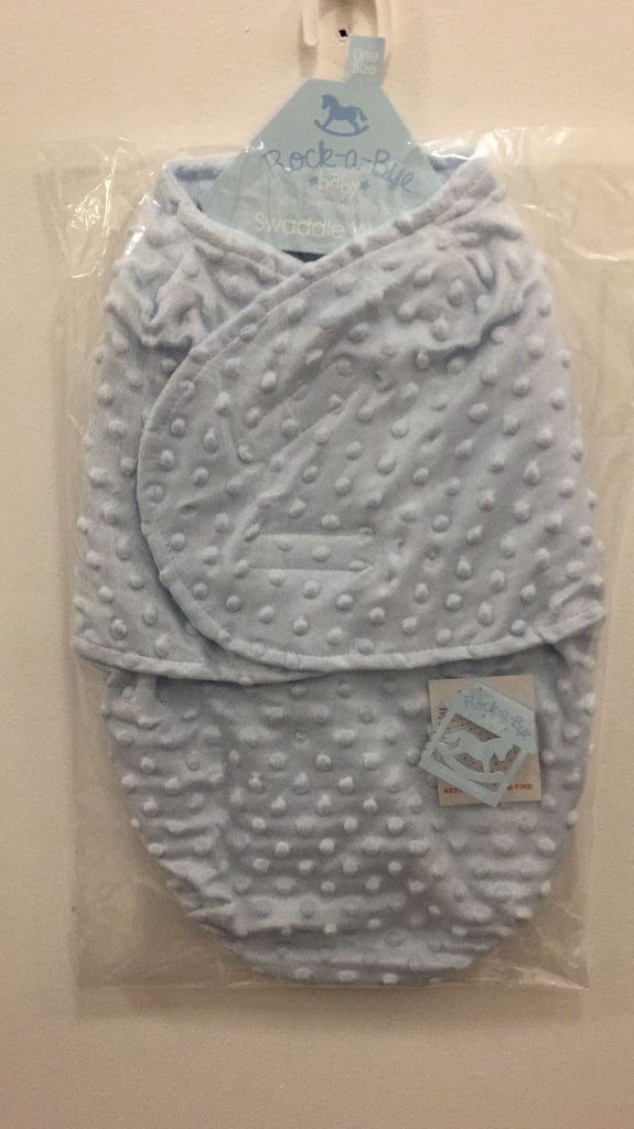 Baby Swaddle Bag - Blue Bubbles - One size/0-3 Months - K119-3010