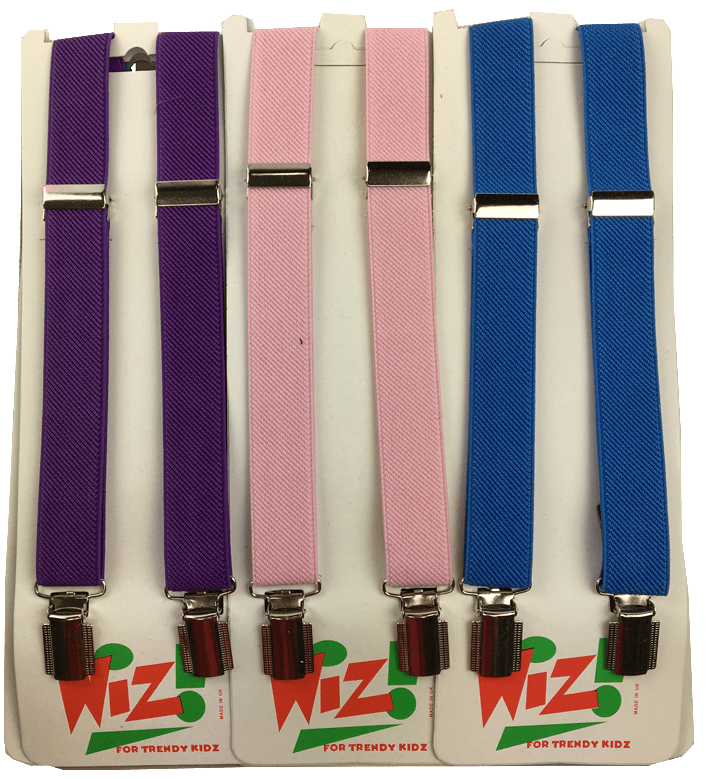 Braces Belts: Assorted Light Colours