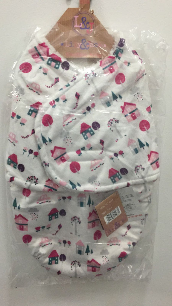 Baby Swaddle Bag - Pink Everything- One size/0-3 Months - M14233