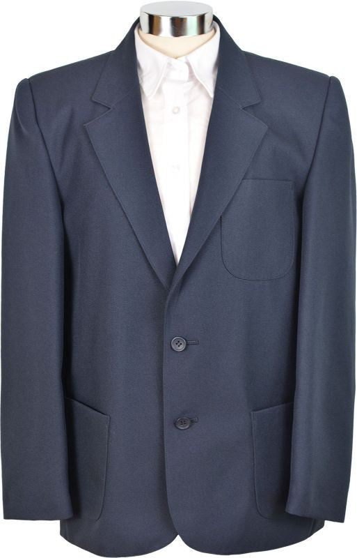 Boys Navy Teflon School Blazer
