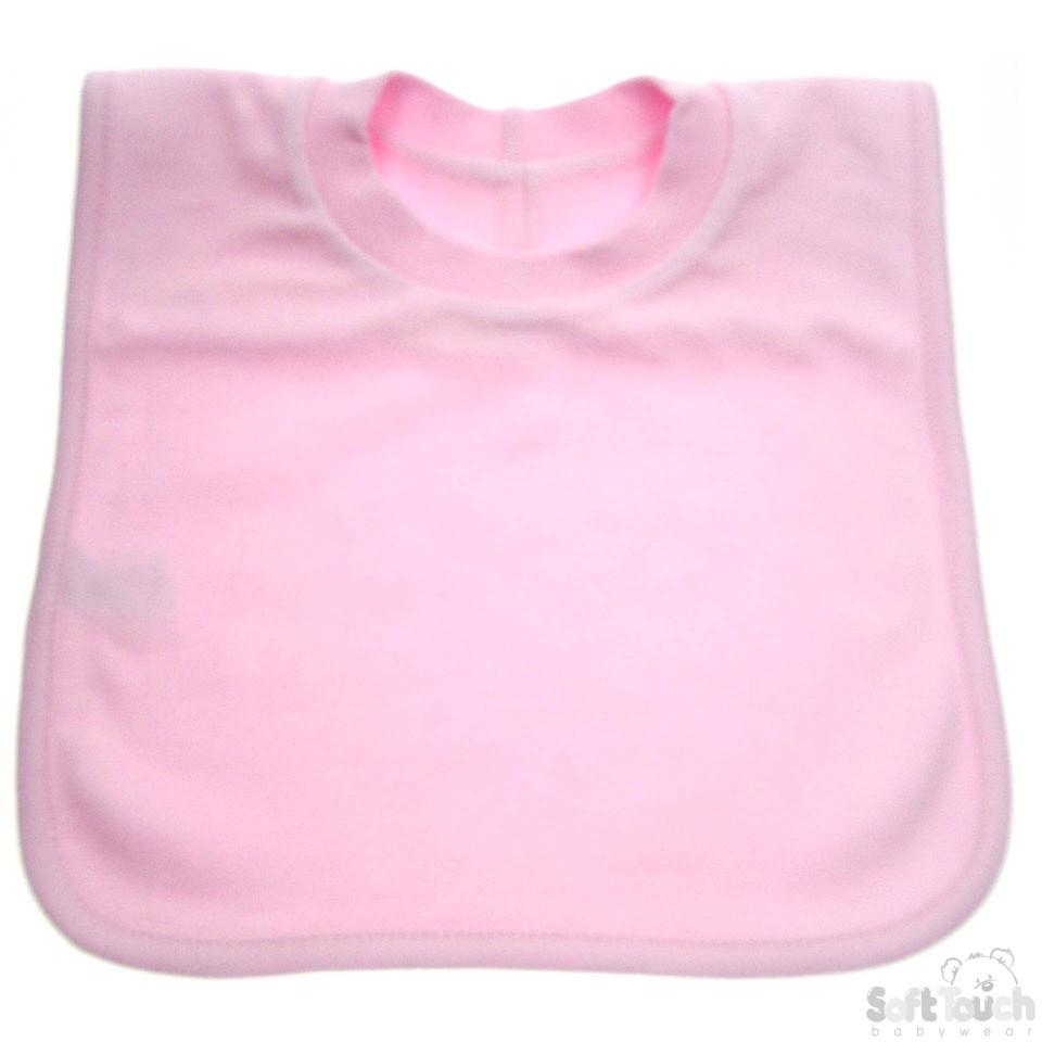 Plain Pop-On Bib (P4632-P)