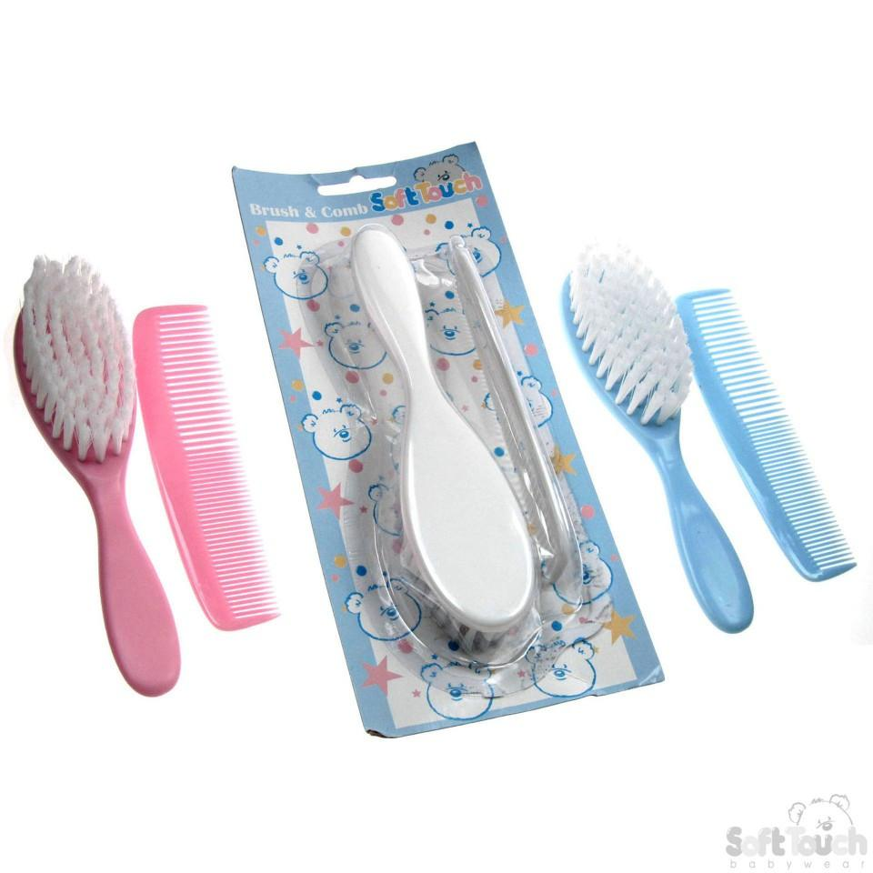 Baby Brush & Comb Set: P600