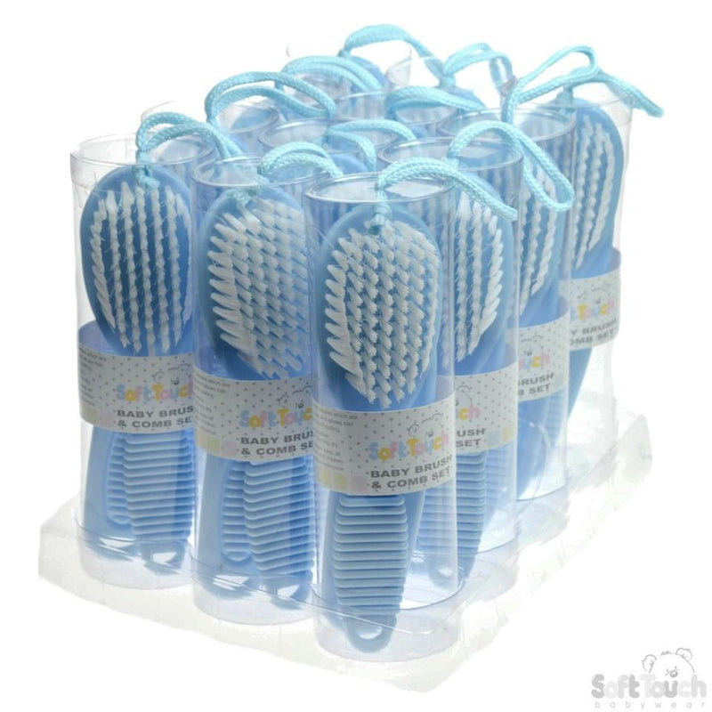 Deluxe Baby Brush & Comb Set: P604-B - Kidswholesale.co.uk